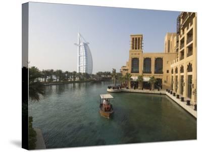Madinat Jumeirah Hotel, Dubai, United Arab Emirates, Middle East-Amanda Hall-Stretched Canvas Print
