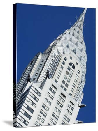 Chrysler Building, Manhattan, New York City, New York, USA-Amanda Hall-Stretched Canvas Print