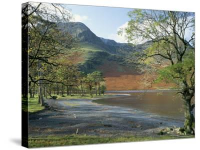 Buttermere, Lake District National Park, Cumbria, England, United Kingdom-Roy Rainford-Stretched Canvas Print