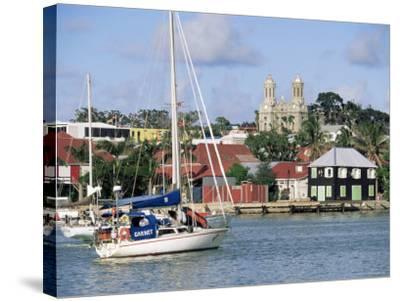 St. John's, Antigua, Leeward Islands, West Indies, Caribbean, Central America-John Miller-Stretched Canvas Print