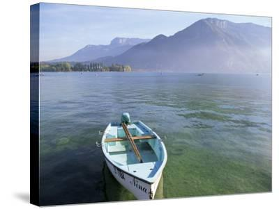 Lake Annecy, Rhone Alpes, France-John Miller-Stretched Canvas Print