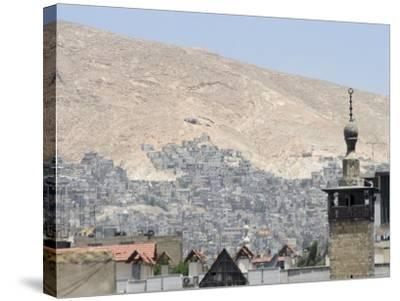 City View, Damascus, Syria, Middle East-Christian Kober-Stretched Canvas Print