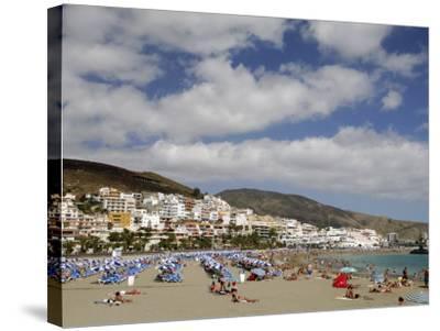 Playa De Las Americas, Tenerife, Canary Islands, Spain, Atlantic-Sergio Pitamitz-Stretched Canvas Print