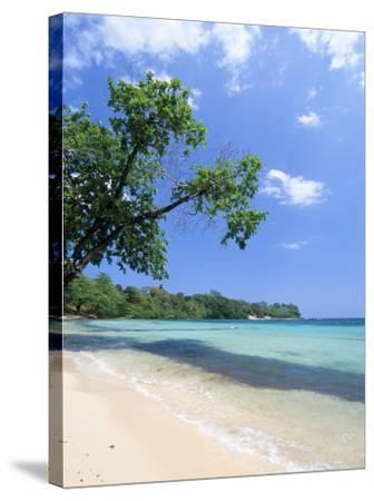 San San Beach, Port Antonio, Jamaica, West Indies, Central America-Sergio Pitamitz-Stretched Canvas Print