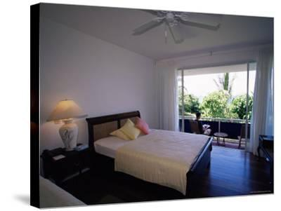 Room at the Blue Heaven Hotel, the Island's Top Hotel, Tobago-Yadid Levy-Stretched Canvas Print