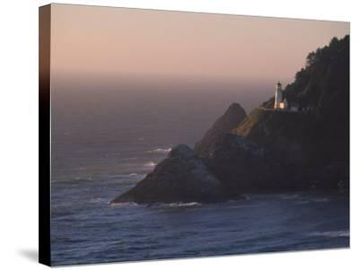 Heceta Head Lighthouse, Oregon, USA-Michael Snell-Stretched Canvas Print