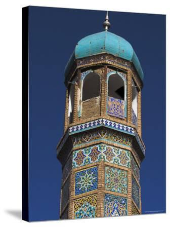 Minaret of the Friday Mosque or Masjet-Ejam, Herat, Afghanistan-Jane Sweeney-Stretched Canvas Print