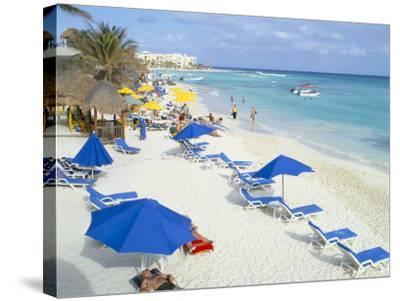 Playa Del Carmen, Yucatan, Mexico, North America-Adina Tovy-Stretched Canvas Print