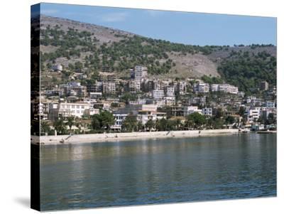 Coastline at Saranda, Albania-R H Productions-Stretched Canvas Print
