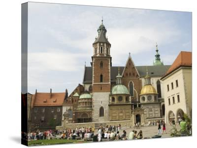 Wawel Cathedral, Royal Castle Area, Krakow (Cracow), Unesco World Heritage Site, Poland-R H Productions-Stretched Canvas Print