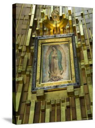 Basilica De Guadalupe, a Famous Pilgramage Center, Mexico City, Mexico, North America-R H Productions-Stretched Canvas Print