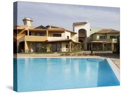 New Development for Booming Property Market, Santa Maria, Sal (Salt), Cape Verde Islands, Africa-R H Productions-Stretched Canvas Print