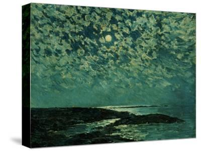 Moonlight, Isle of Shoals, 1892-Childe Hassam-Stretched Canvas Print