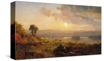 Autumn Sunset, 1876-Jasper Francis Cropsey-Stretched Canvas Print