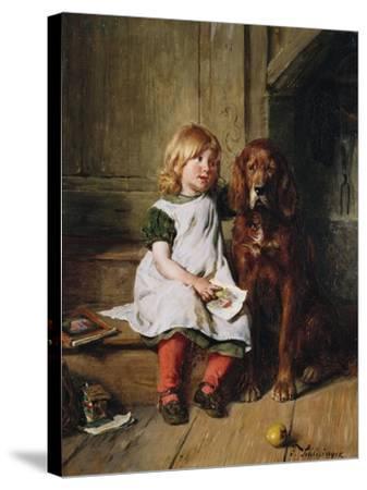 Good Companions-William Bradford-Stretched Canvas Print