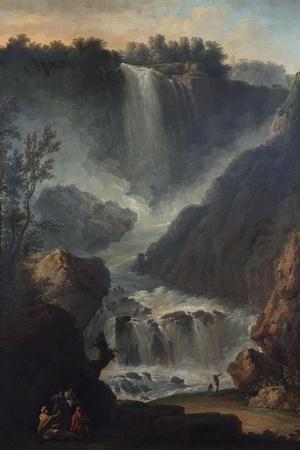The Falls of Terni-Hendrik Avercamp-Stretched Canvas Print
