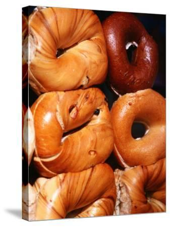 Bagels, New York City, New York-Michael Gebicki-Stretched Canvas Print