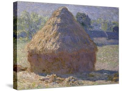 Haystack, Late Summer, c.1891-Claude Monet-Stretched Canvas Print
