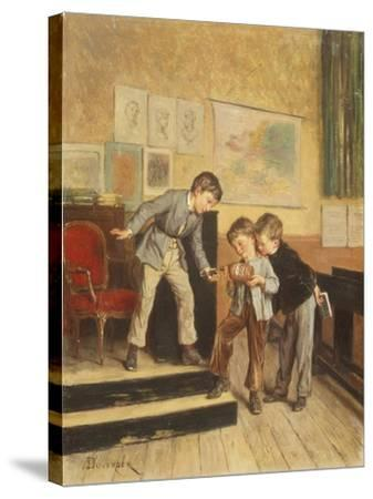 Filling the Inkwells-Theophile E. Duverger-Stretched Canvas Print