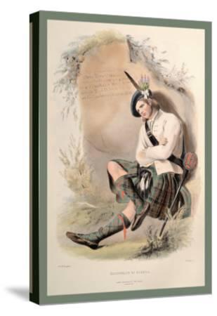 MacDonald of Glenco-R^r^ Mcian-Stretched Canvas Print