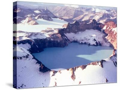 Katmai Crater-Captain Budd Christman-Stretched Canvas Print