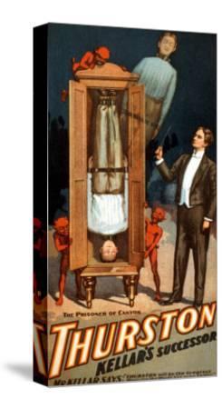 The Prisoner of Canton: Thurston Kellar's Successor--Stretched Canvas Print