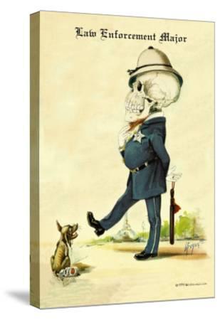 Law Enforcement Major-F. Frusius M.d.-Stretched Canvas Print
