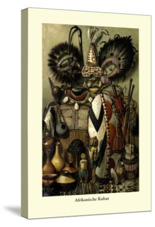 Afrikanische Kultur--Stretched Canvas Print