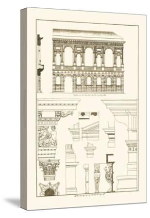 Palazzo Bevilacqua at Verona-J^ Buhlmann-Stretched Canvas Print