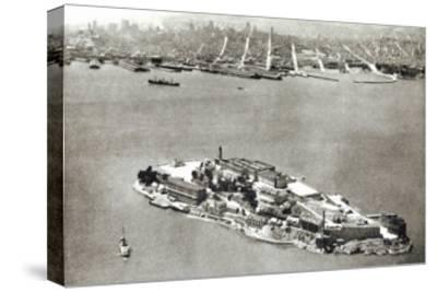 Alcatraz Island, San Francisco, California--Stretched Canvas Print