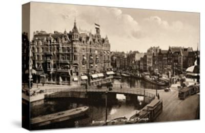 Binnen Amstel Hotel de l'Europe, Amsterdam--Stretched Canvas Print