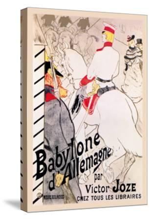 Babylone d'Allemagne-Henri de Toulouse-Lautrec-Stretched Canvas Print