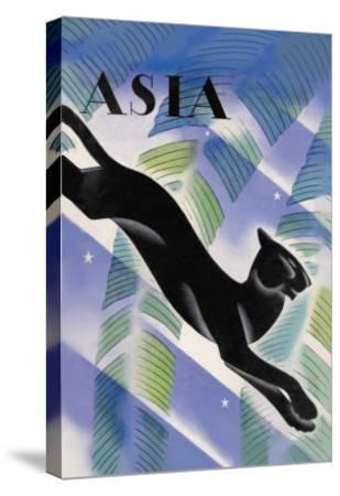 Malayan Night-Frank Mcintosh-Stretched Canvas Print