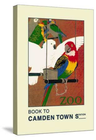 The London Zoo: Exotic Birds-S.t.c. Weeks-Stretched Canvas Print