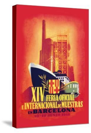 XIV Official International Model Fair in Barcelona- Guillermo-Stretched Canvas Print