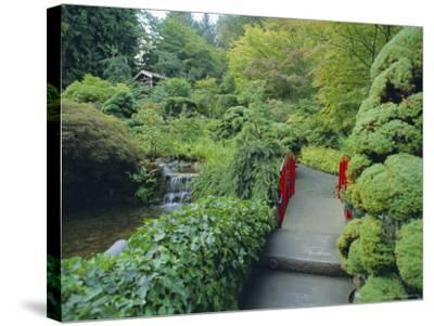 Buchart Gardens, Vancouver Island, British Columbia, Canada-Robert Harding-Stretched Canvas Print