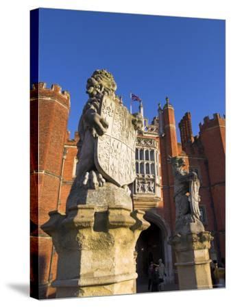 Hampton Court, Surrey, England, UK, Europe-Charles Bowman-Stretched Canvas Print