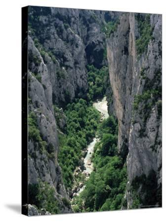 Grand Canyon of the Verdon River, Alpes-De-Haute-Provence, Provence, France, Europe-Ruth Tomlinson-Stretched Canvas Print