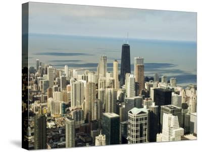 View of Chicago from the Sears Tower Sky Deck, Chicago, Illinois, USA-Robert Harding-Stretched Canvas Print