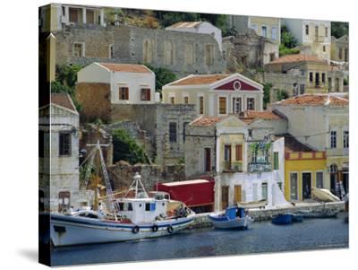 Yialos, Symi, Greece-Fraser Hall-Stretched Canvas Print