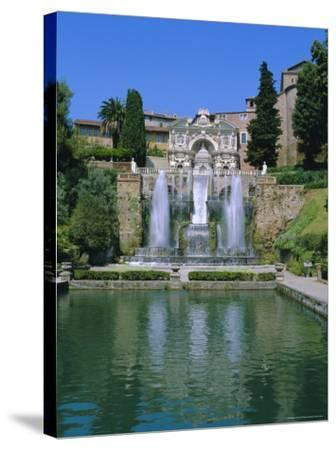 Villa d'Este, Tivoli, Lazio, Italy-Bruno Morandi-Stretched Canvas Print