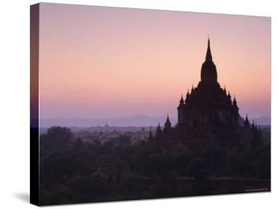 Sulamani Pahto, Bagan (Pagan), Myanmar (Burma), Asia-Jochen Schlenker-Stretched Canvas Print