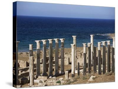 Eastern Basilica, Apollonia, Cyrenaica, Libya, North Africa, Africa-Nico Tondini-Stretched Canvas Print