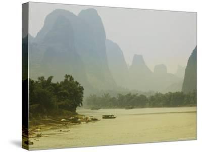 Yangshuo, Li River, Guangxi Province, China, Asia-Angelo Cavalli-Stretched Canvas Print