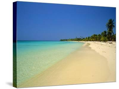 West Bay at the Western Tip of Roatan, Largest of the Bay Islands, Honduras, Caribbean, West Indies-Robert Francis-Stretched Canvas Print