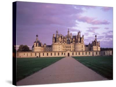 Chateau of Chambord, Loir Et Cher, Region De La Loire, Loire Valley, France-Bruno Morandi-Stretched Canvas Print