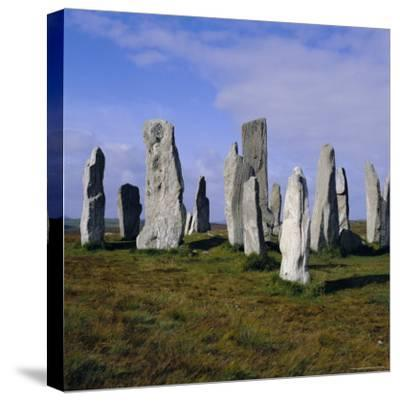 Callanish Standing Stones, Lewis, Outer Hebrides, Scotland, UK, Europe-Michael Jenner-Stretched Canvas Print