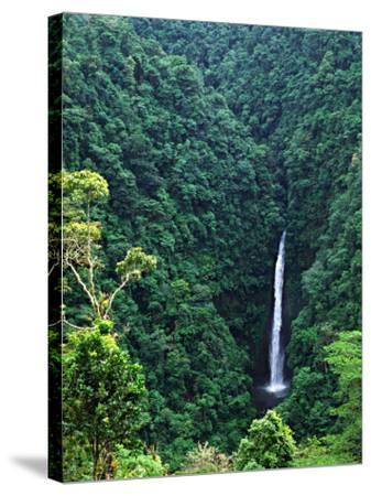 Waterfall near Poas Volcano, Poas Volcano National Park, Costa Rica-Charles Sleicher-Stretched Canvas Print