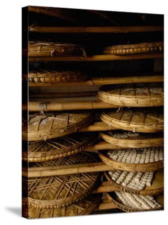 Sweet Bread, Jianshui Market, Yunnan Province, China-Pete Oxford-Stretched Canvas Print