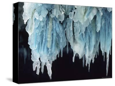 Finland, Gulf of Bothnia, Icicles Hang from a Ice-Breaker-Brimberg & Coulson-Stretched Canvas Print